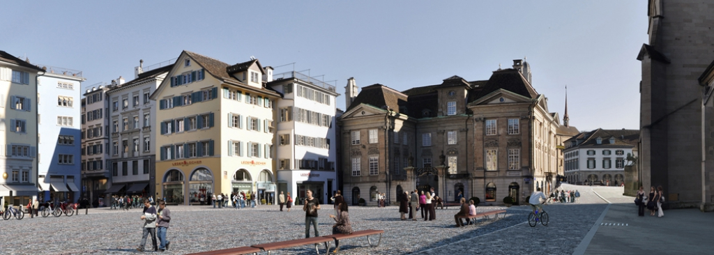 Einweihung Münsterhof