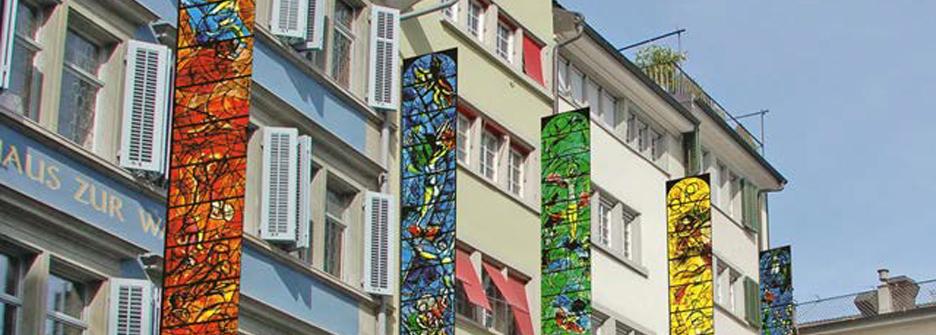 Chagall Fahnen