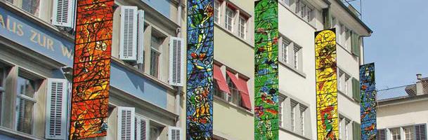 Chagall-Fahnen